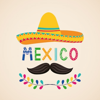 Mexico cinco de mayo card