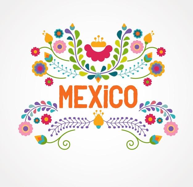 メキシコのコンセプトバナー