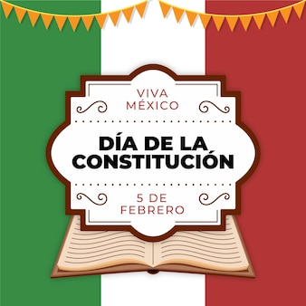 Mexico constitution day book