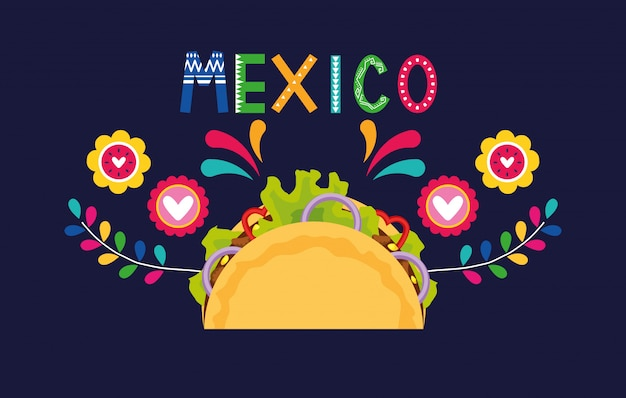 Mexico food banner