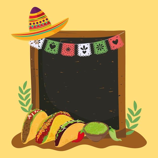 Mexico food tacos