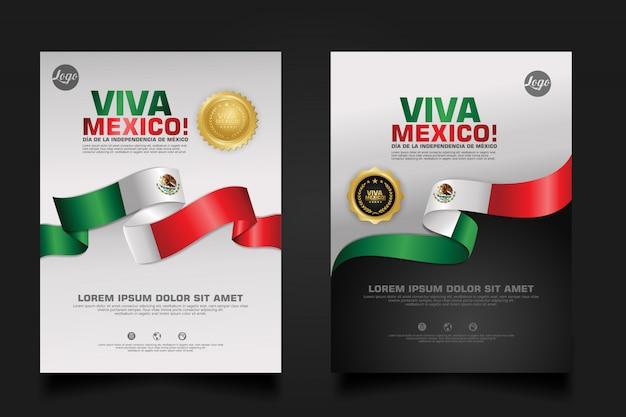 Мексика счастливый день независимости шаблон.