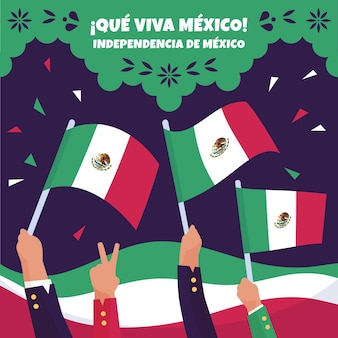 Mexico independence day celebration