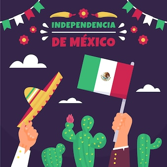 Mexico independence day event
