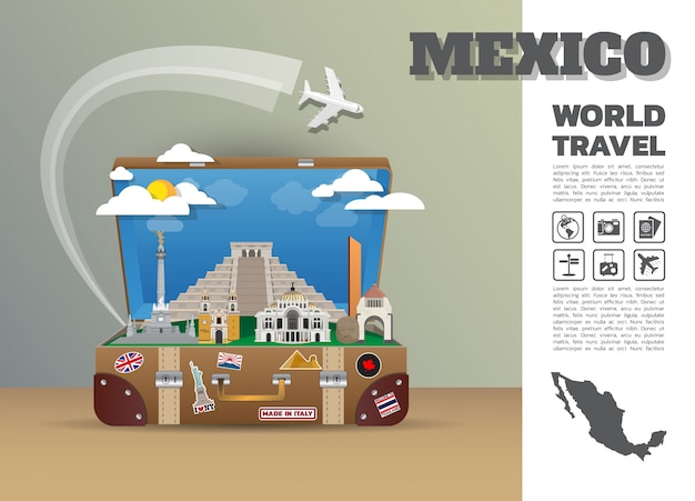Mexico travel template