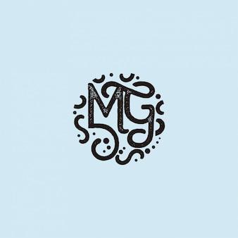 Mg logo initials