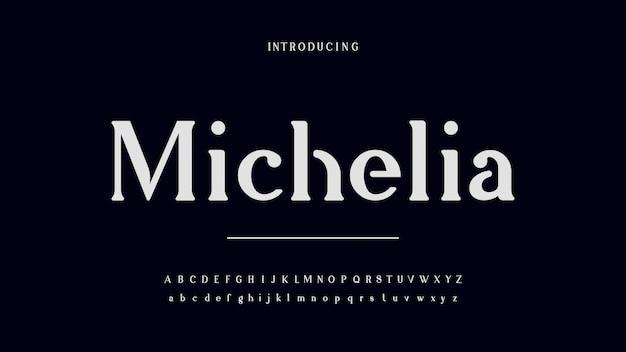 Michelia serifフォント