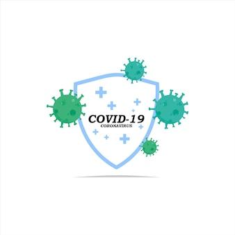 パンデミック時の顕微鏡肺炎コロナウイルス病における微生物細菌