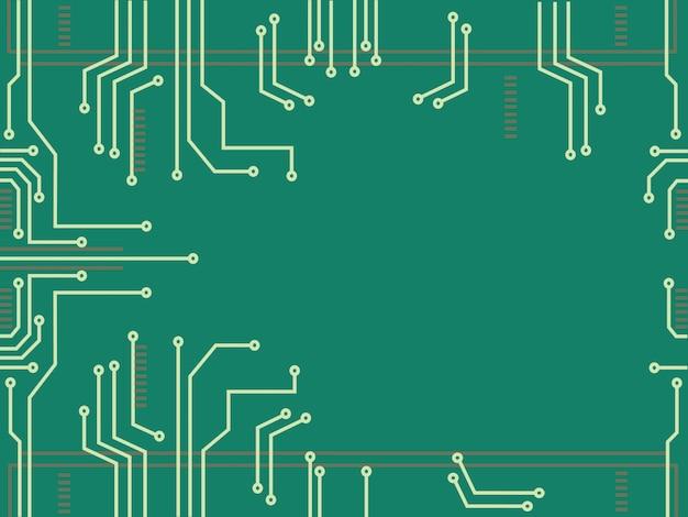 Технология микрочиповой линии и пространство
