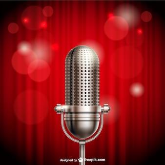 Microphone illustration