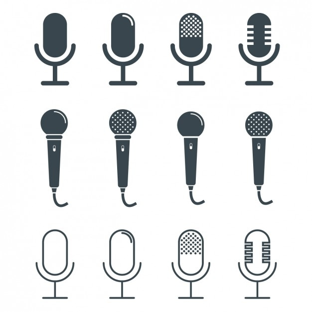microphone vectors photos and psd files free download rh freepik com microphone vector illustration free microphone vector art