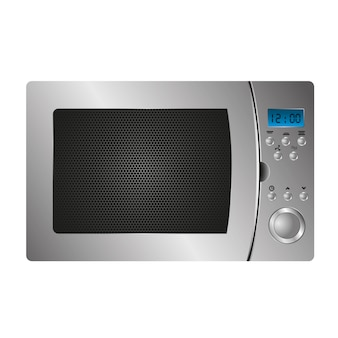 Microwave of kitchen