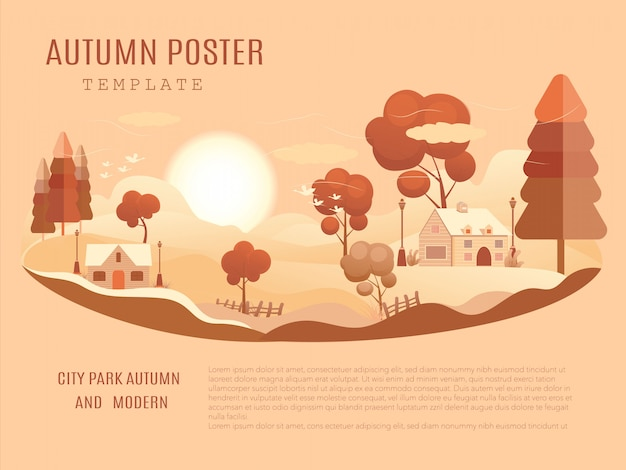Mid-autumn festival poster template