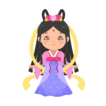 Праздник середины осени принцесса изменить картинки