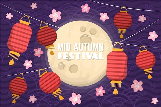 Mid-autumn festival theme