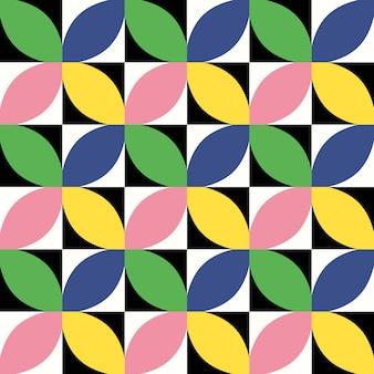 Mid century seamless pattern.