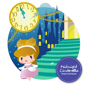 Midnight cinderella storybook