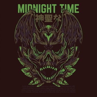 Midnight time
