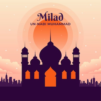 Milad-un-nabi greeting card