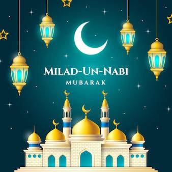 Milad-un-nabi greeting