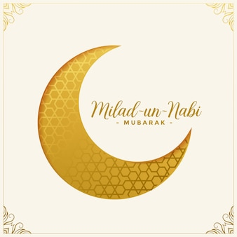 Milad un nabi islamic festival card