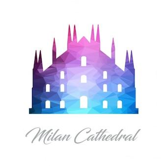 Milan cathedral, polygonal