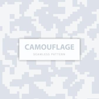 군대와 군대 픽셀 위장 원활한 패턴