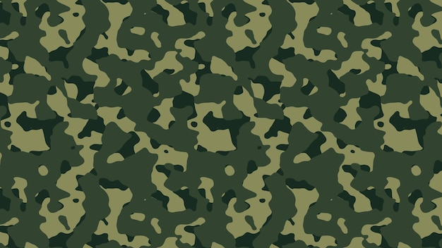Military and army camouflage pattern