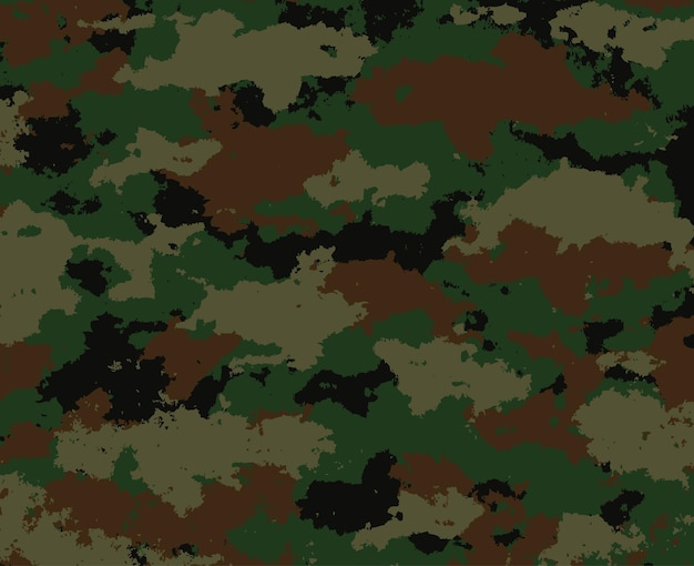 Military camouflage background design