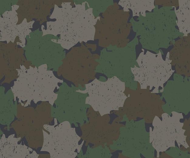 Military camouflage background made of splash