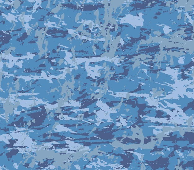 Military camouflage pattern in grunge style