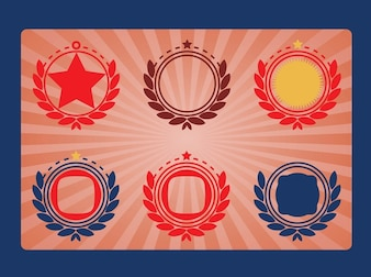Military Emblems Vectors