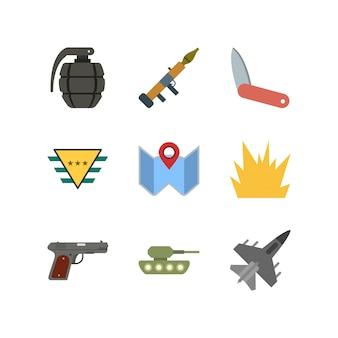 군사 아이콘