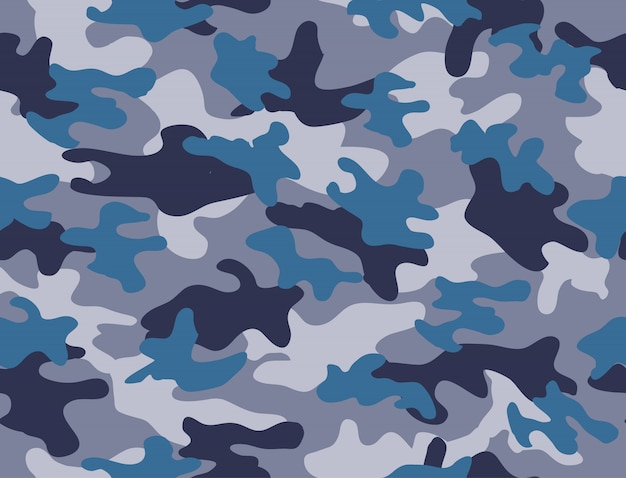Military seamless pattern