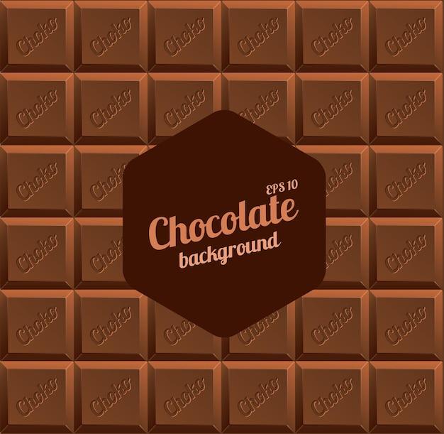 Фон из молочного шоколада