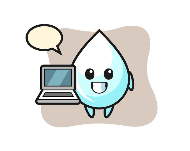 Milk drop, cute style design for t shirt, sticker, logo element