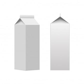 ミルクまたはジュースカートンパッケージングボックス