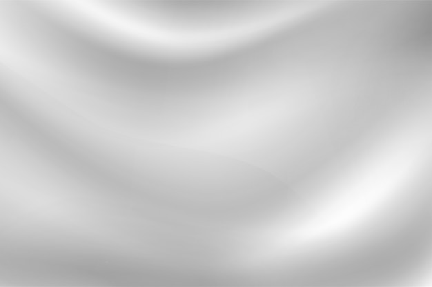 밀크 화이트 웨이브 배경 흔들리는 흰 천처럼 부드럽습니다.