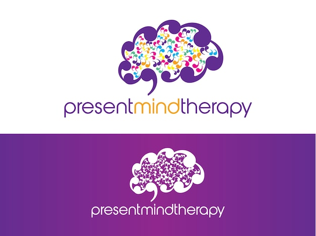 Mind therapy logo design
