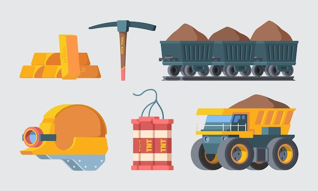 Комплект шахтного карьерного оборудования.