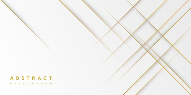 Minimal abstract light silver and gold background