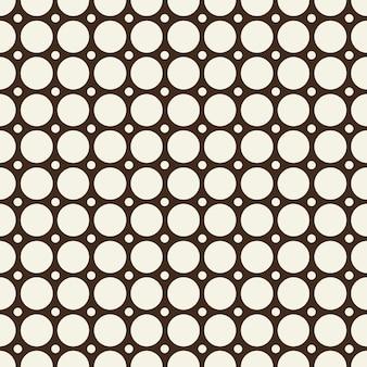最小限の抽象的なシームレスな黒と白のパターン