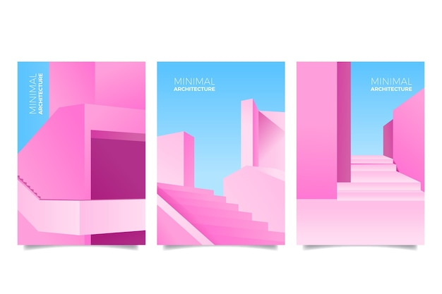 Minimal architecture covers pack
