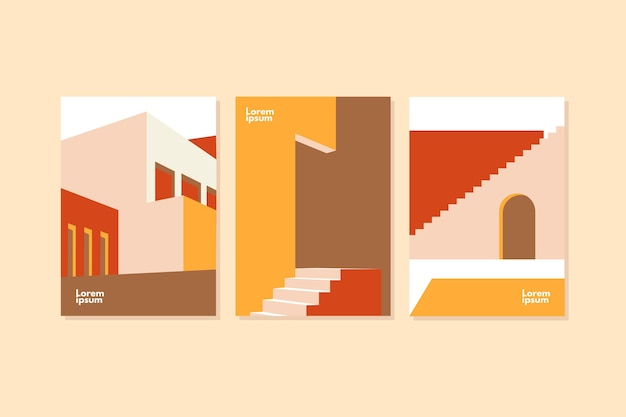 Minimal architecture covers template