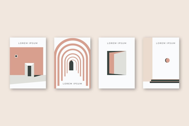 Minimal architecture covers
