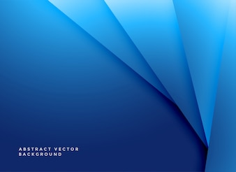Minimal blue geometric shapes background