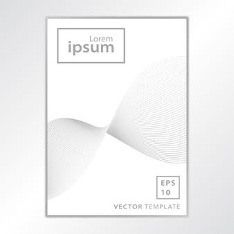Минимальный дизайн брошюр для бизнес-брошюр
