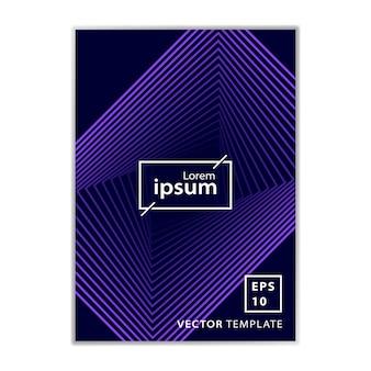 Minimal business brochure cover design