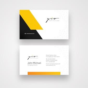 Minimal business card templat