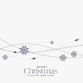 Minimal christmas decoration background design
